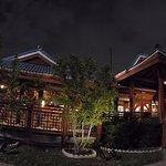 The Osaka at night