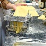 Making pasta at the pasta workshop at The Chopping Block.