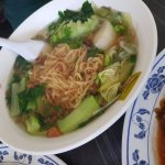 Duck Noodles - the broth was delicious