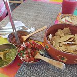 That red salsa is the BOMB!!