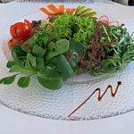 Insalata mista con salsa Italiana