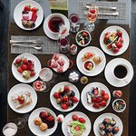 strawberry buffet
