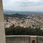 Veduta di Spoleto dalla Rocca