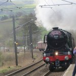 Visit from Flying Scotsman
