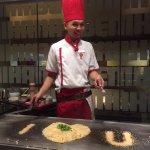 Very creative garlic fried rice
