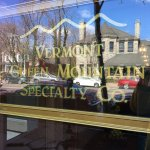 Vermont Green Mountain Specialists Co - sign on front window