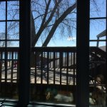 Blue Water Grill - back deck overlooking lake
