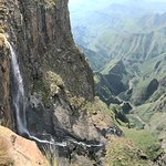 Top of the Tugela Falls, nearby