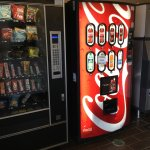Coke and snack machines.
