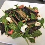 Portabella Spinach Salad