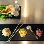 Trio of TAM, Spicy traditional salads!