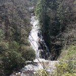 Waterfall about 2 miles away