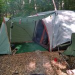 My tent site from last years visit.