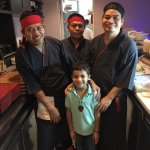 Fresh and delicious, this sushi team rocks. Ask them for the chef special rolls!