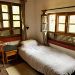 My charming, single room in Krishna House.