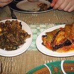 Закуски (щавелевый салат)