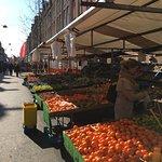 Foofd Market around the corner