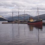 vessels at Inveraray Sept 2016