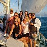 sunset sail on the Floridays
