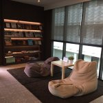 Mini Library @ 24hr guest lounge room