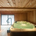 Hydrotherapy tub and far infra-red sauna