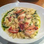 Shrimp & Country Ham Pasta. Delicious !