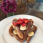 Bread and Chocolate French Toast Breakfast