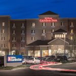 Hilton Garden Inn Billings MT Exterior at Dusk