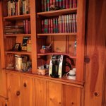 Keurig coffee maker and private library selection