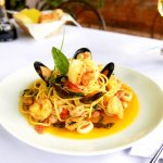 Spaguetti alla Marinara, sabor surpreendente.
