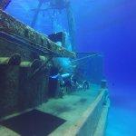 Diving at the USS Kittiwake