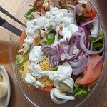 Another monster Cobb salad