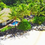 Our beautiful beachfront villas each with private pool