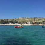 Paddling out of Mistra Bay