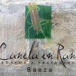 Canela en Rama Taberna - Baeza resmi