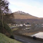 View down Loch Long from hotel grounds Photo © Gerald England