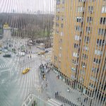 The view from the 6th floor to Columbus Circle