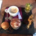 Bonne table, des plats copieux et goûteux. une bonne présentation et un serveur plein d'humour d