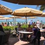 View outside at The Turtle Club, Naples FL