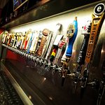 40 craft beers on tap.  Trust us, you'll find somethign you love.