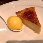 Creme Brulee (tasted more like chess pie)