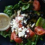 """Greek"" salad."