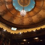 Fox Theater ceiling and balcony