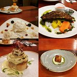 4 course taster menu