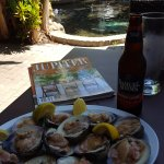 Best way to enjoy a lazy afternoon lunch in Jupiter, FL. Photo by Eileen Batson