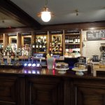One of the bars at Rothley Court Hotel