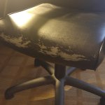 Office chair in need of replacement