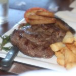 Amazing Ribeye Steak cooked perfectly to everyones request