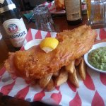 Homemade Fish and Chips! Best in town!