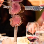 We are known for our unlimited rodizio, featuring 12+ cuts of meat carved tableside!